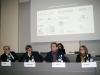 Nella slide gli sponsor e le collaborazioni nell'anno del centenario dedicato a Mario Luzi