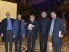 Pino Tufillaro, Emanno Codegoni, Mons. Gianantonio Borgonovo, Marco Nereo Rotelli, Paolo A. Mettel