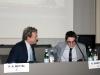 Il Presidente della nostra Associazione Paolo A. Mettel con lo studente Amadeo Gasparini.