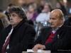 Marco Marchi e il Presidente del Centro Studi Mario Luzi La Barca, Nino Petreni
