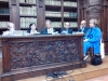 Il tavolo dei relatori da destra: Paoloa Baioni, Gloria Manghetti direttrice del Vieusseux, Paolo Mettel, Daniele Piccini, Nino Petreni, Anna Dolfi.