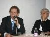 """Paolo A. Mettel nel corso della conferenza di presentazione della mostra """"Mario Luzi 1914-2014, Il poeta e i suoi artisti. Memorie di terra toscana"""", al Museo d'Arte di Mendrisio"""