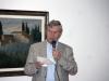 """Rolando Peternier nel corso della conferenza di presentazione della mostra """"Mario Luzi 1914-2014, Il poeta e i suoi artisti. Memorie di terra toscana"""", al Museo d'Arte di Mendrisio"""