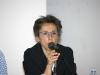 """Giovanna Uzzani (curatrice della mostra """"Mario Luzi 1914-2014, Il poeta e i suoi artisti. Memorie di terra toscana"""") nel corso della conferenza di presentazione al Museo d'Arte di Mendrisio"""