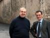 Ermanno Codegoni, Maestro organista responsabile Santa Maria delle Grazie di Milano, in compagnia del suo assistente