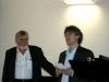 Luigi Quadranti con Claude Hauri