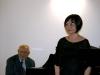 Paolo Arata al pianoforte e il soprano Joo Cho