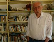 Il poeta Mario Luzi (1915-2005).