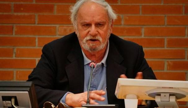 Gianni Luzi alla biblioteca San Giorgio