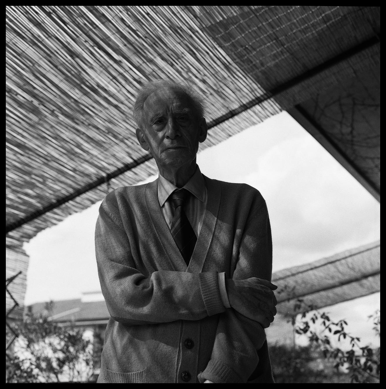 Mario Luzi fotografato da Luciano Bonuccelli